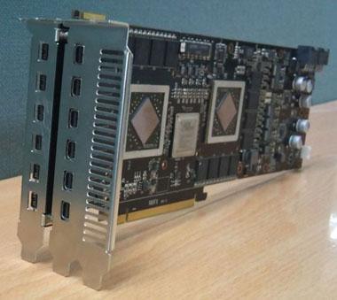 HD5970 Eyefinity 12 PCB