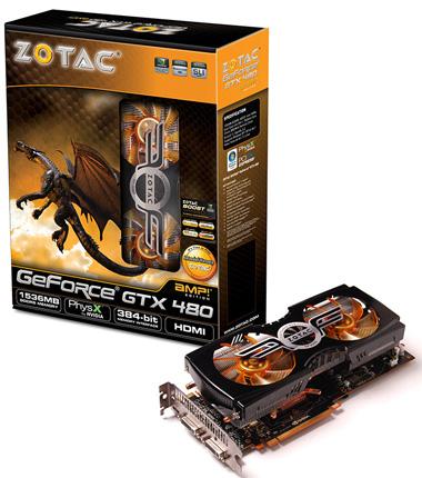GeForce GTX 480 AMP! Edition